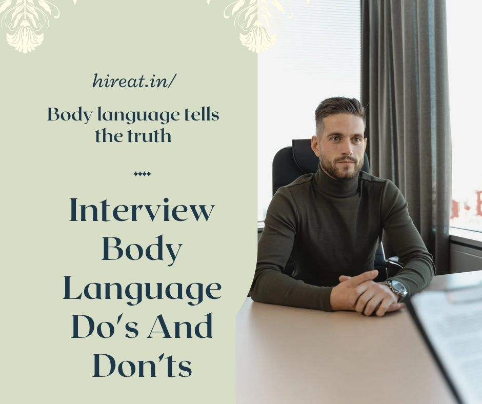 Interview Body Language Do's And Don'ts